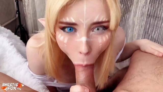 Naked Elf Cosplay photo 2
