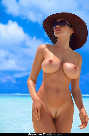 Tits On Beach photo 20
