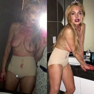 Lindsay Lohan Naked Video photo 6