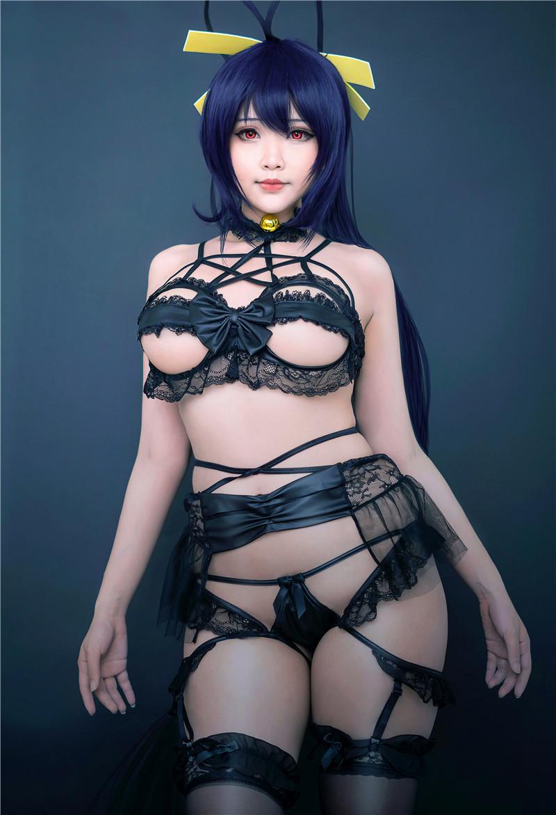 Lewd Cosplayer Nude photo 27