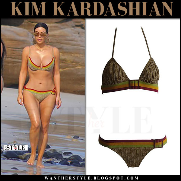 Kim Kardashian Swimsuit 2017 photo 13