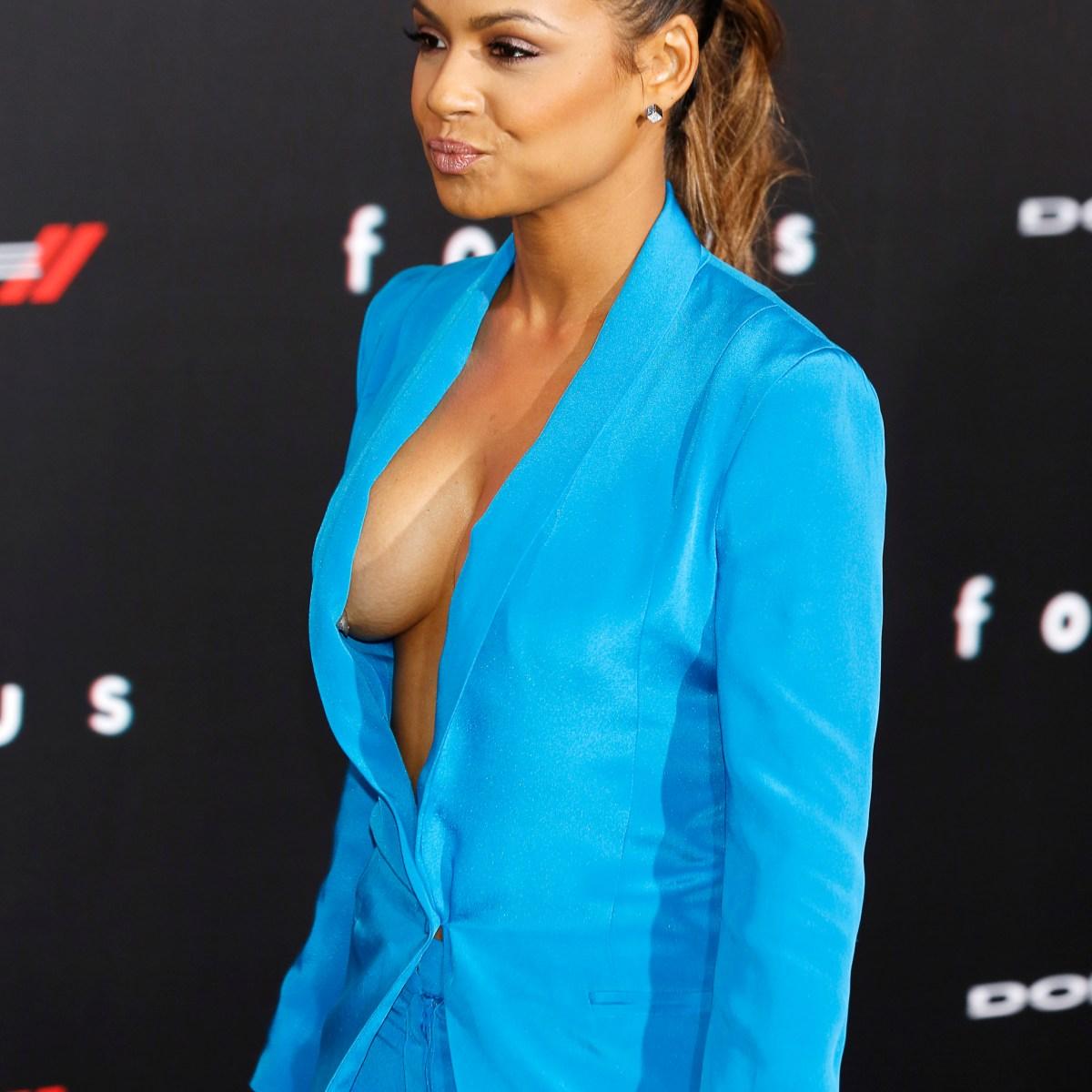 Hollywood Actress Nip Slip photo 17
