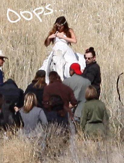 Miley Cyrus Nip Slip Video photo 6