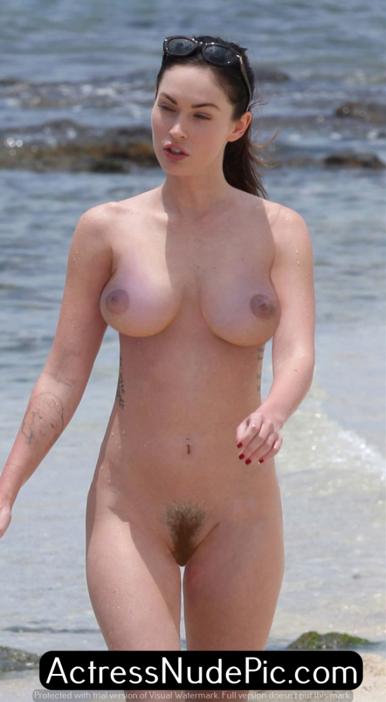 Megan Fox Necked photo 27