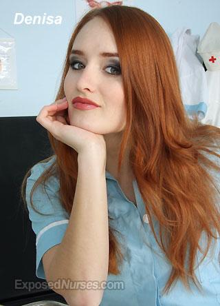Redhead Nurse Porn photo 21