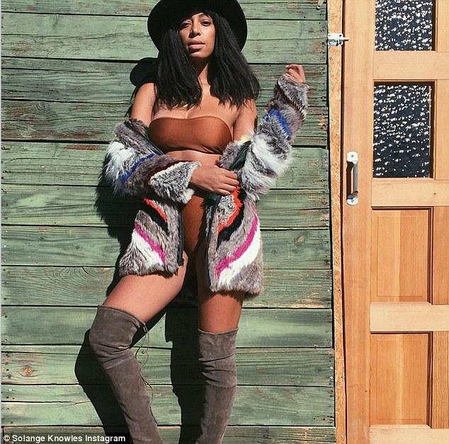 Solange Knowles Cameltoe photo 20