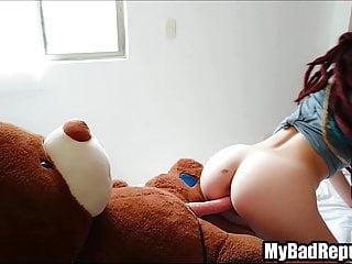 Girl Fucking Teddy Bear photo 13