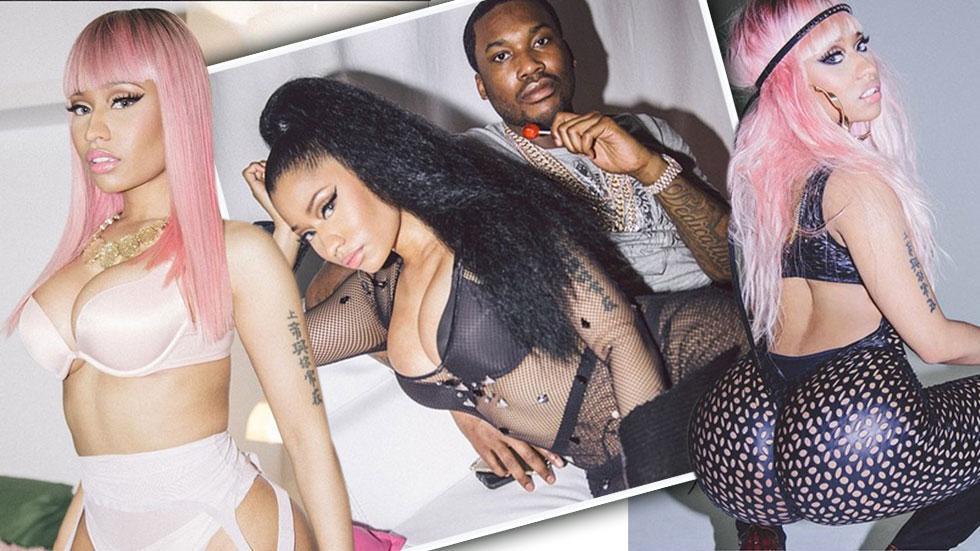 Nicki Minaj Necked photo 2