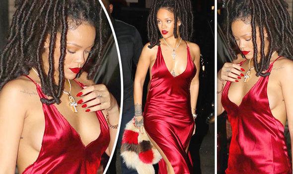 Rihanna Boob Slip photo 25