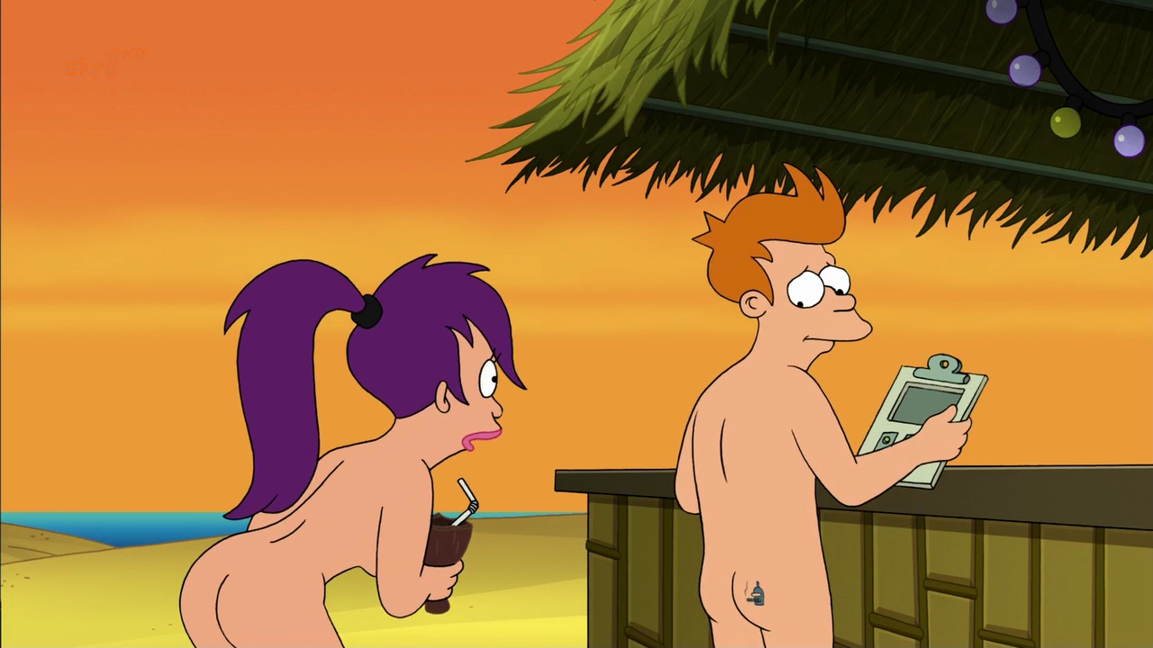 Futurama Leela Topless photo 5