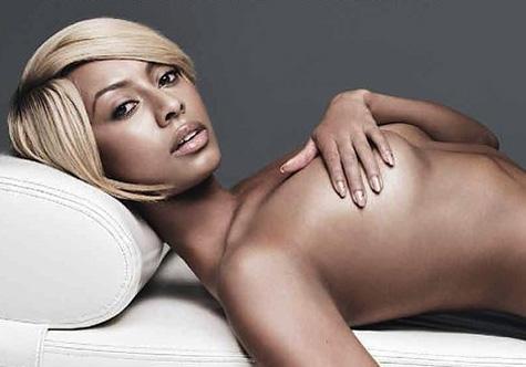 Keri Hilson Topless photo 14