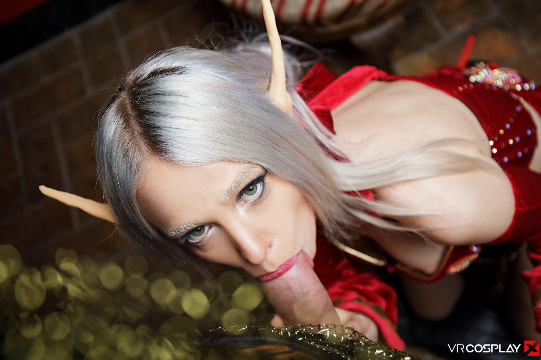 Naked Elf Cosplay photo 21
