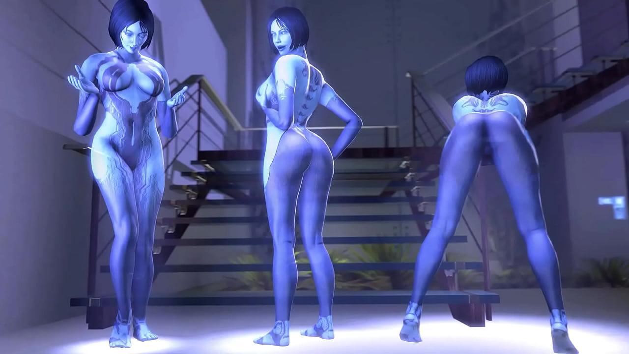 Cortana Sex Games photo 8