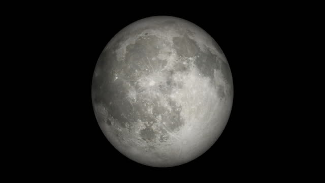 Moon Formation Video photo 8