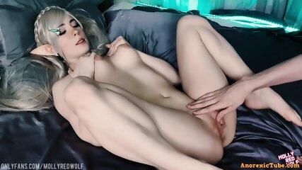 Naked Elf Cosplay photo 27