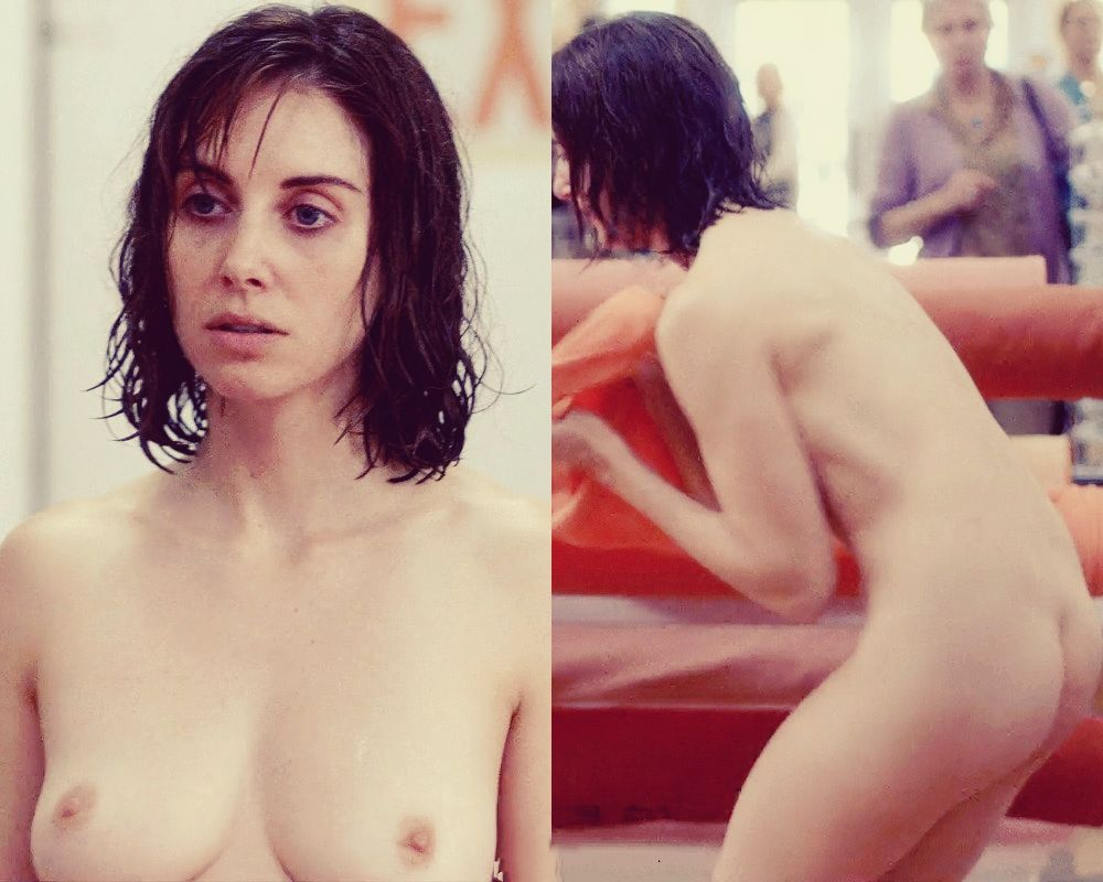 Alison Brie Topless In Glow photo 2