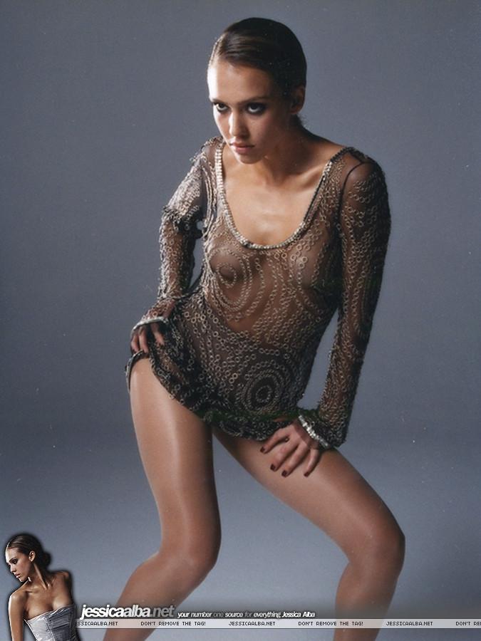 Jessica Alba See Thru photo 5
