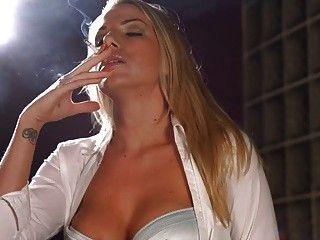 Danielle Maye Smoking photo 5