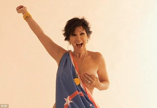 Caitlyn Jenner Topless photo 9