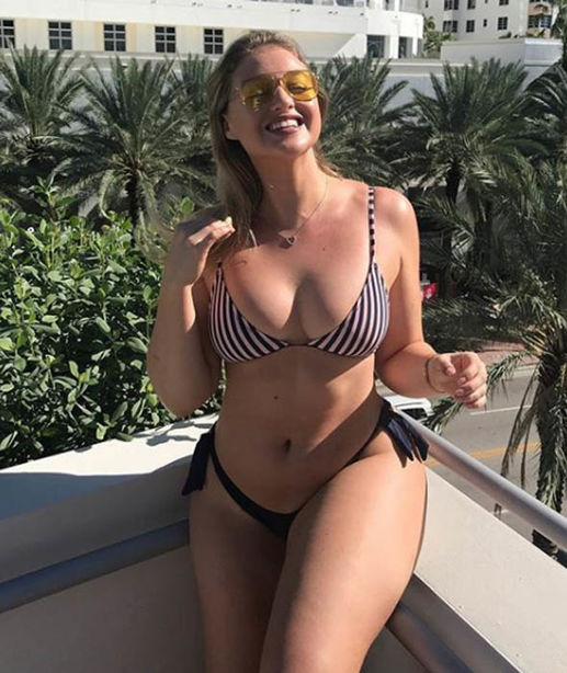 Iskra Lawrence Sexy photo 1