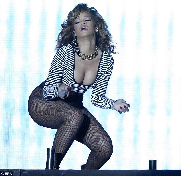 Rihanna Gets Cheeky In Brazil photo 17