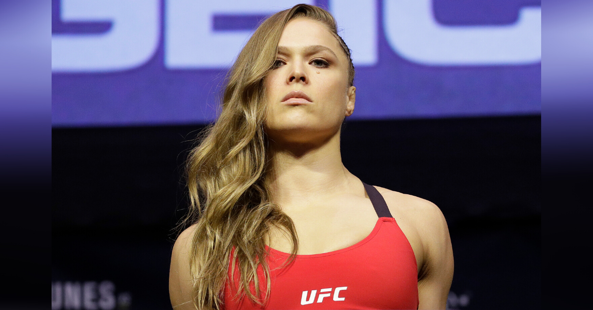 Did Ronda Rousey Make A Sex Tape photo 1
