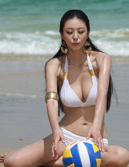 Busty Chinese Woman photo 8