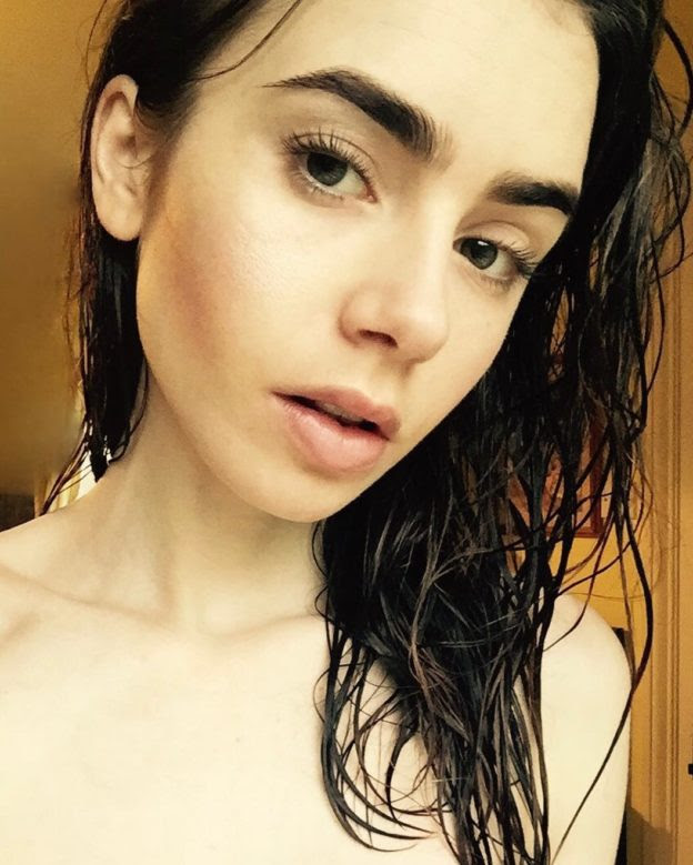Lilly Collins Topless photo 29