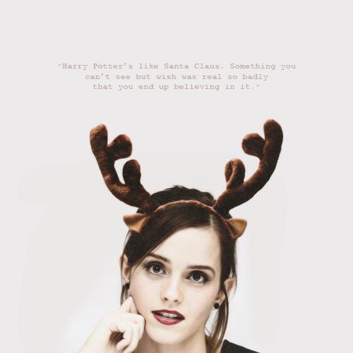Emma Watson Santa photo 15