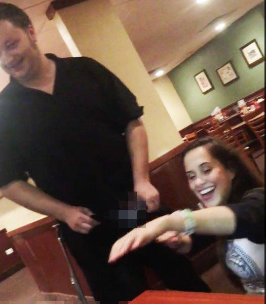 Denny Waiter Blowjob photo 3