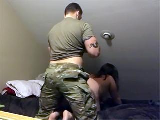 Soldier Fucks Wife photo 23