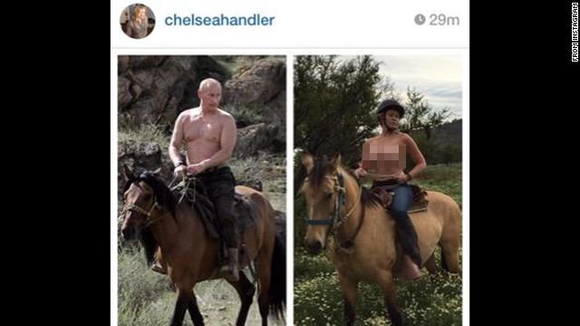 Chelsea Handler Topples photo 17