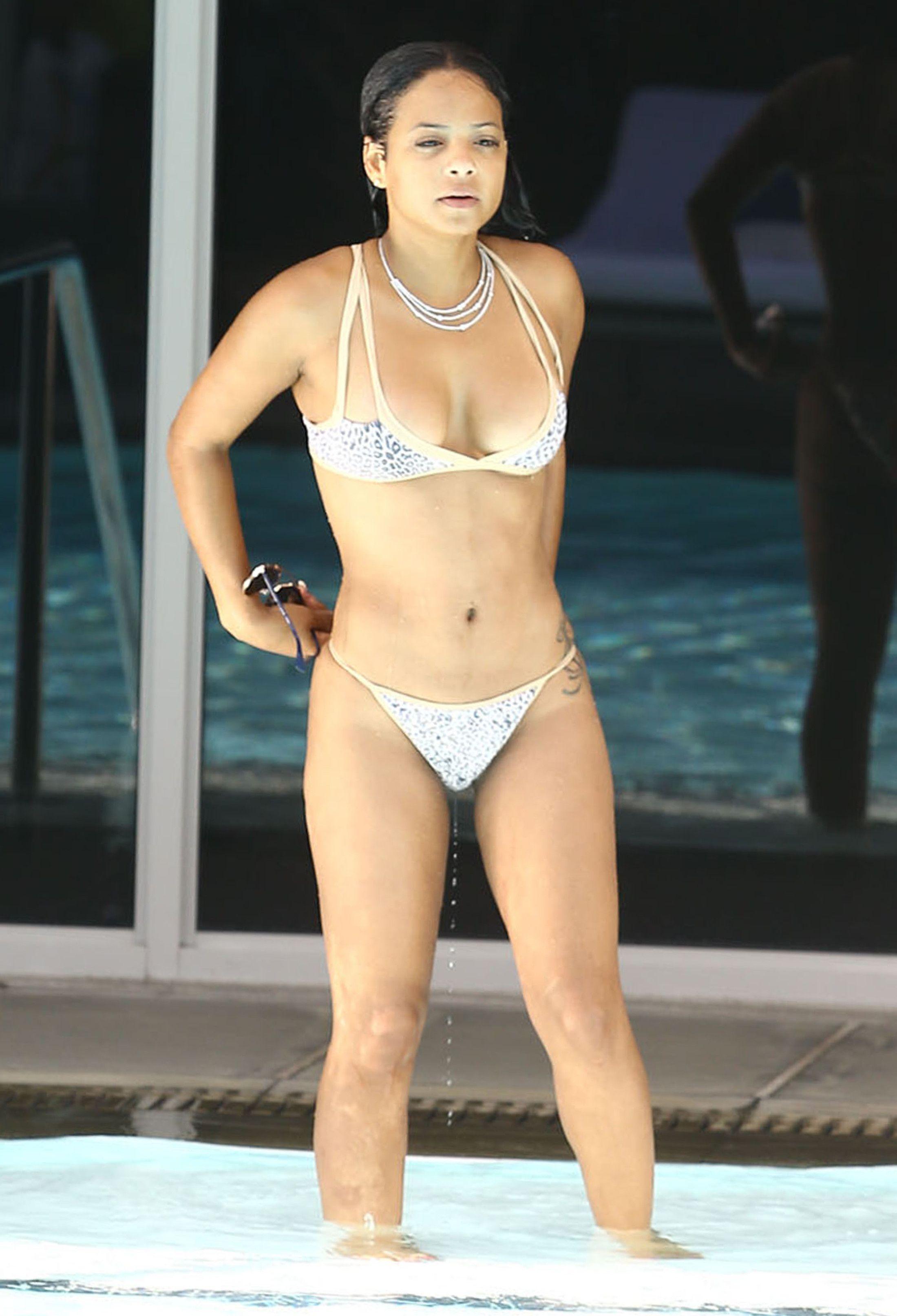 Christina Milan Bikini photo 5