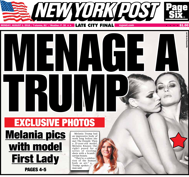 Dirty Scandalous Photos Of Melania Trump photo 6