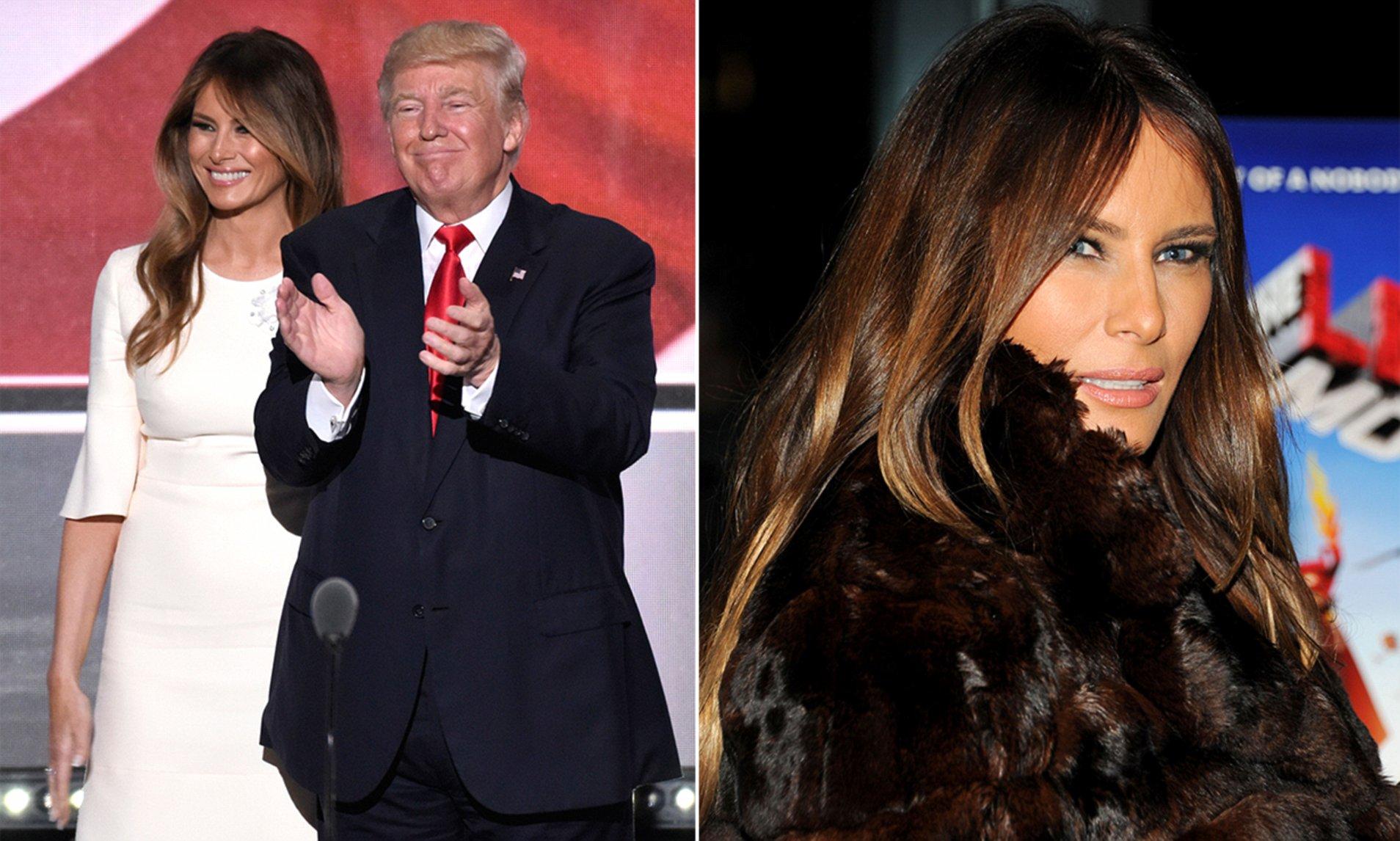Dirty Scandalous Photos Of Melania Trump photo 26