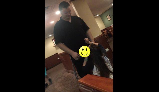 Denny Waiter Blowjob photo 16