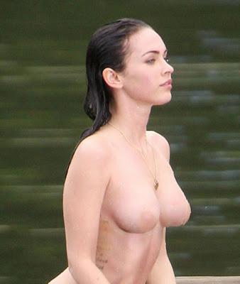 Megan Fox Necked photo 18