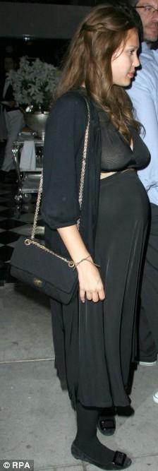 Jessica Alba See Thru photo 7