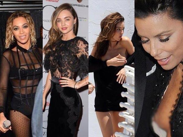 Hollywood Actress Nip Slip photo 19