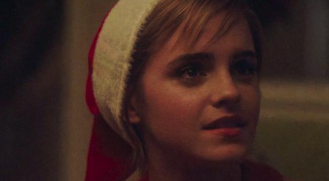 Emma Watson Santa photo 19