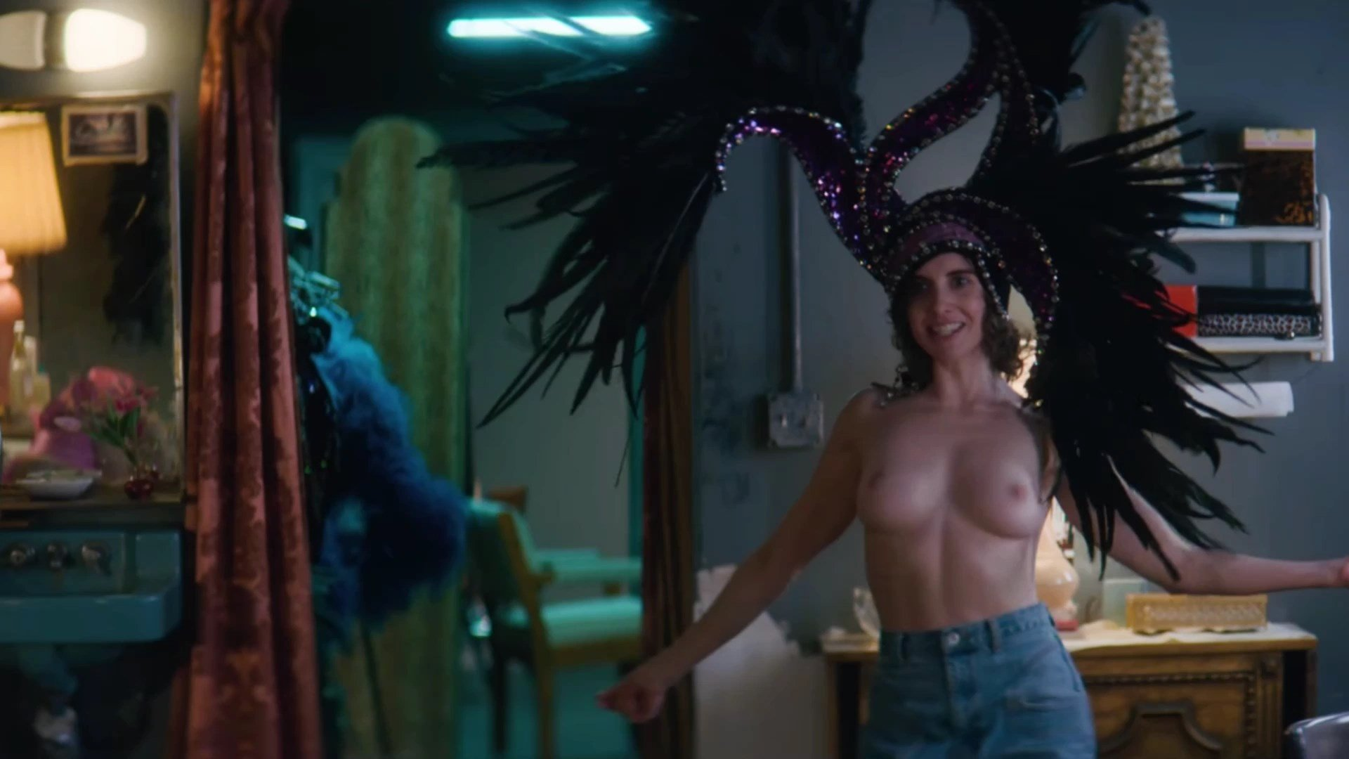 Alison Brie Topless In Glow photo 3