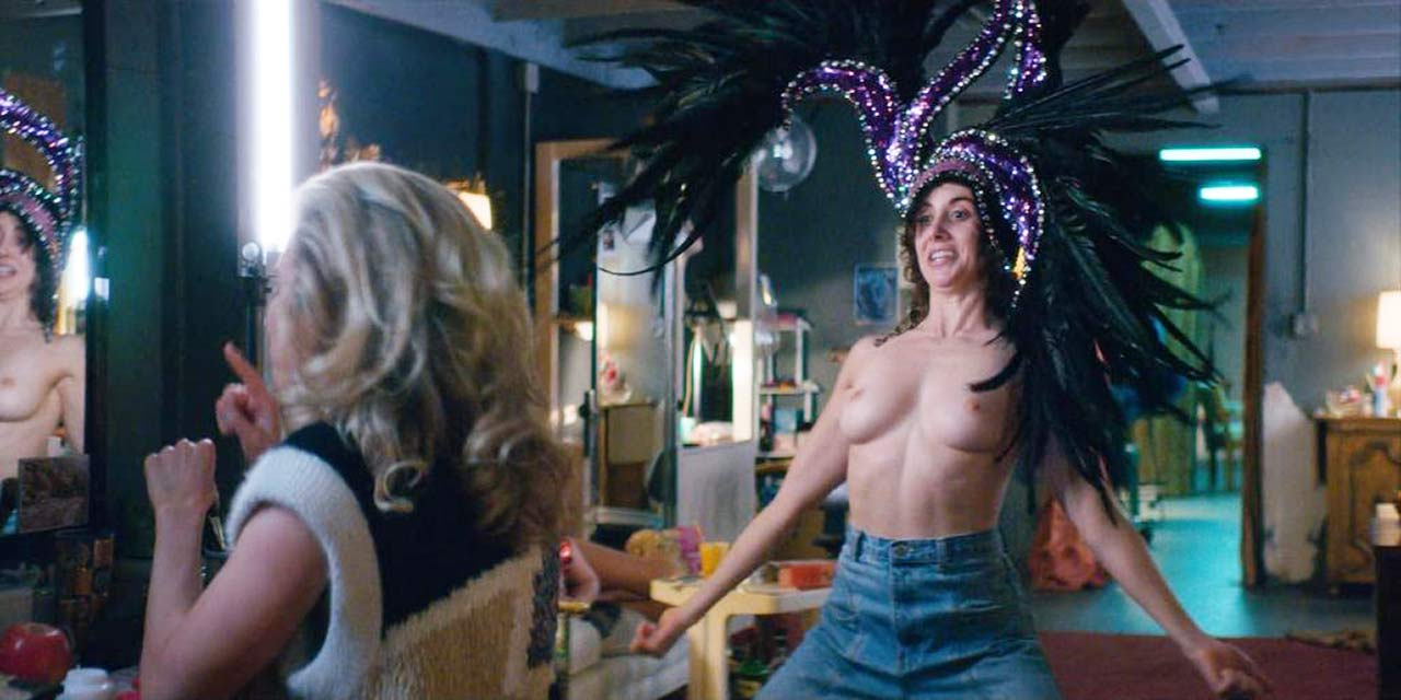 Alison Brie Topless In Glow photo 16