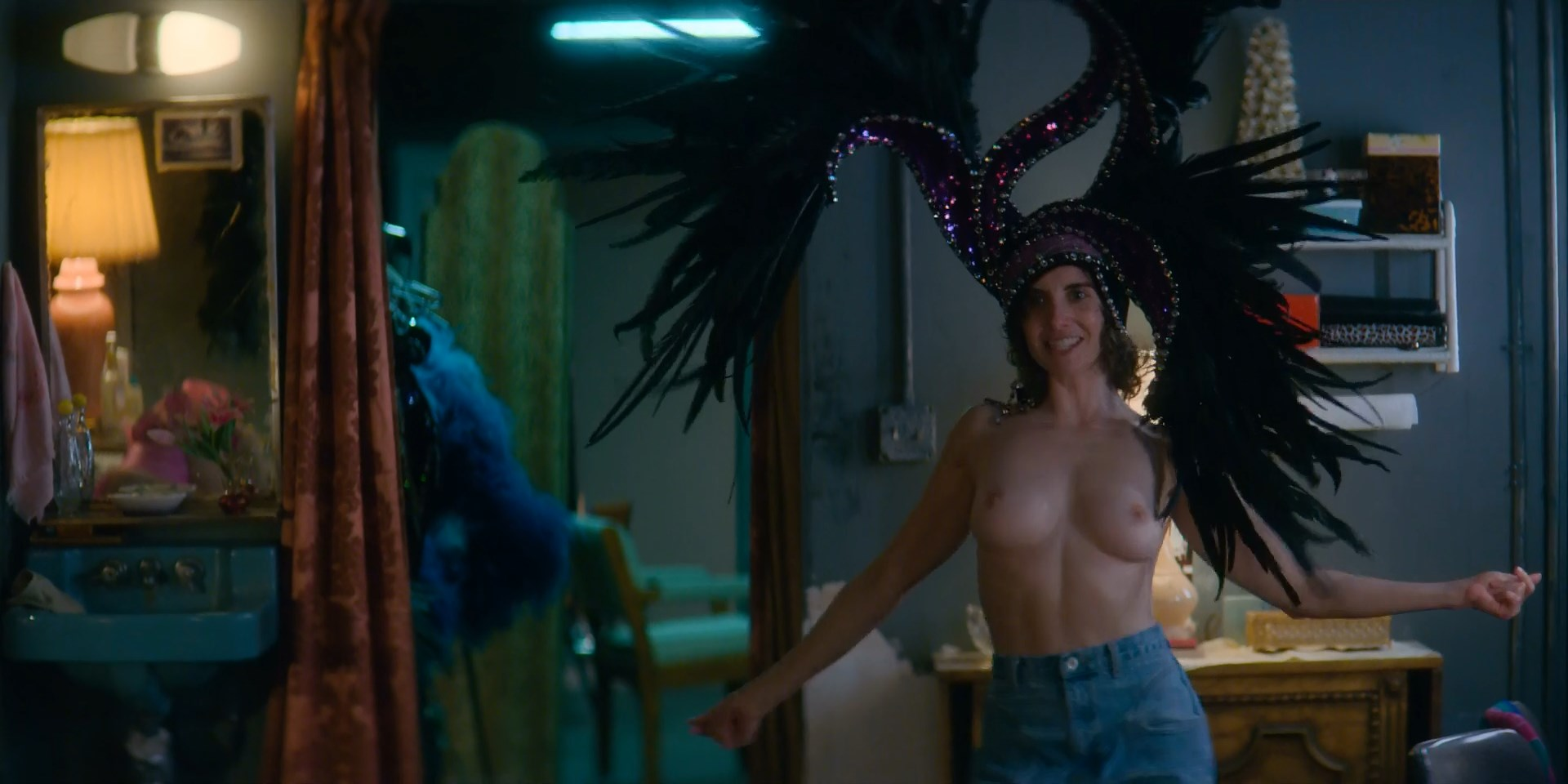 Alison Brie Topless In Glow photo 9