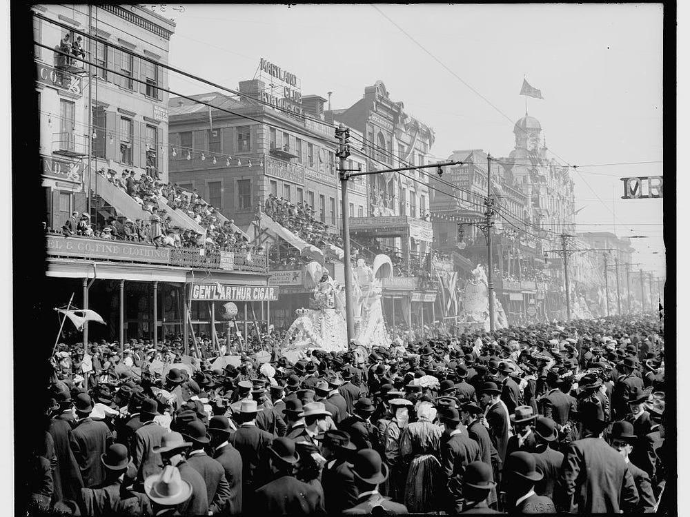 Vintage Mardi Gras Photos photo 26