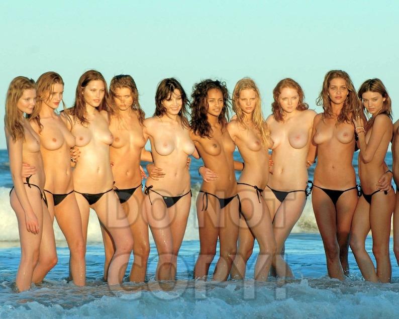 Victorias Secret Models Topless photo 17
