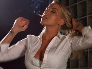 Danielle Maye Smoking photo 1