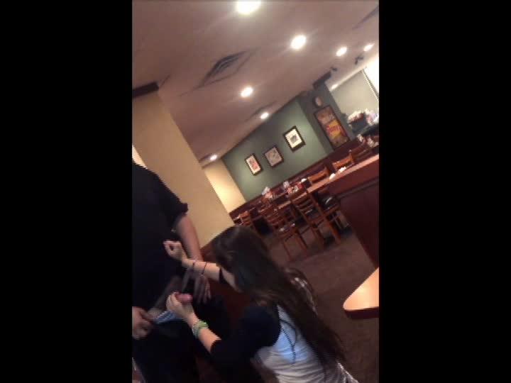 Denny Waiter Blowjob photo 1
