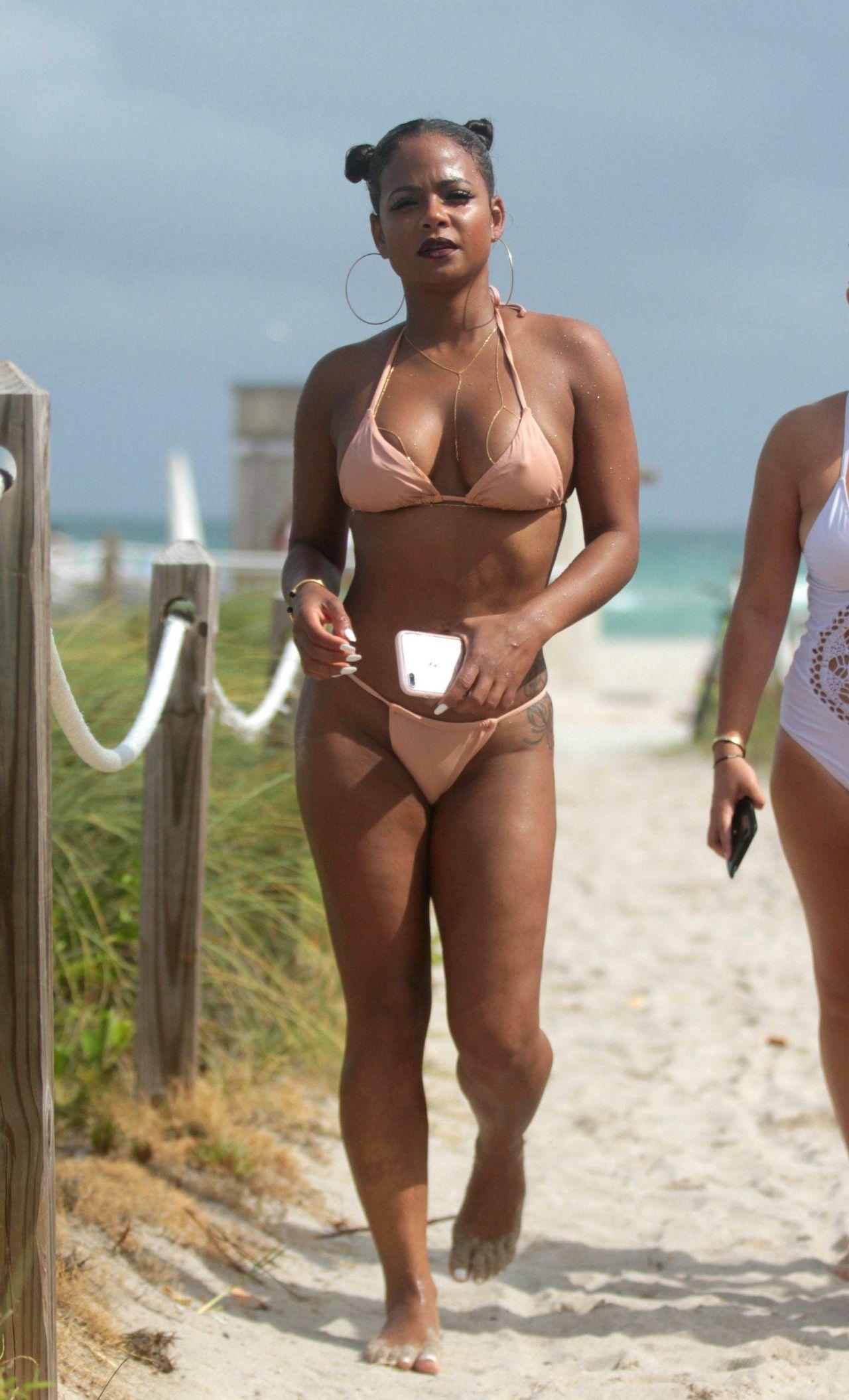 Christina Milan Bikini photo 8