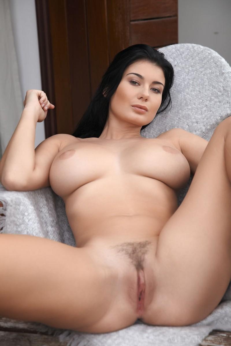 Busty Brunette Porn photo 27