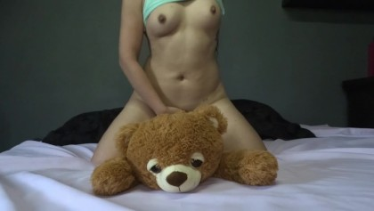 Girl Fucking Teddy Bear photo 8